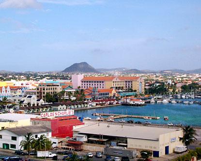 Oranjestad overview